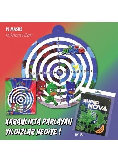 Pj Masks PJ Masks Eva Mıknatıslı Dart Oyunu Renkli
